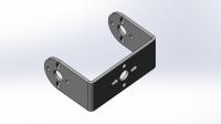 Алюминиевая П-скоба S для стандартного сервопривода