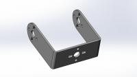 Алюминиевая П-скоба L для стандартного сервопривода