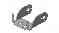 Алюминиевый многофункциональный кронштейн для стандартного сервопривода