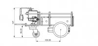 РобоРовер М1 2WD Шасси
