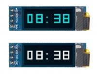 OLED дисплей 0,91 дюйма 128x32 для платы Nanobit